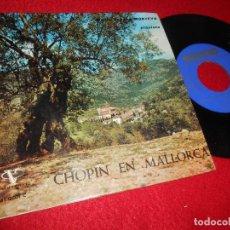 Discos de vinilo: MARIA TERESA MONTEYS PIANO CHOPIN PRELUDIO 15/164/3 MAZURCA 23 ESTUDIO 10 EP 1962 VERGARA SPAIN. Lote 124095915