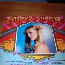 Discos de vinilo: SUPER, SUPER. FIESTA LOS VALLDEMOSA.VENUS ALTAMIRA 3. GWENDOLYNE SALOME... C6V. Lote 124099991