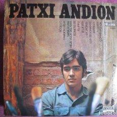 Discos de vinilo: 10 PULGADAS - PATXI ANDION - MISMO TITULO (SPAIN, ORLADOR 1970.-CIRCULO DE LECTORES). Lote 124104159