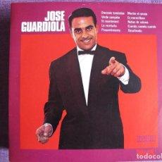 Discos de vinilo: 10 PULGADAS - JOSE GUARDIOLA - MISMO TITULO (SPAIN, ORLADOR 1972.-CIRCULO DE LECTORES). Lote 124104983