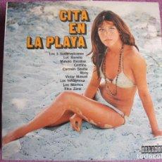 Discos de vinilo: 10 PULGADAS - CITA EN LA PLAYA - VARIOS (SPAIN, ORLADOR 1971.-CIRCULO DE LECTORES). Lote 200548427