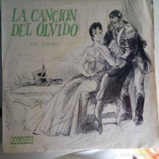 Discos de vinilo: VINILO: ZARZUELA: LA CANCIÓN DEL OLVIDO. ORLADOR 1968. Lote 124108551