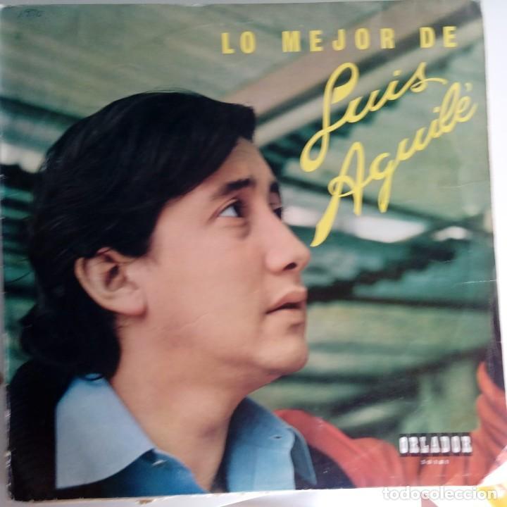 VINILO: LO MEJOR DE LUIS AGUILÉ. ORLADOR 1969 (Música - Discos - Singles Vinilo - Solistas Españoles de los 70 a la actualidad)