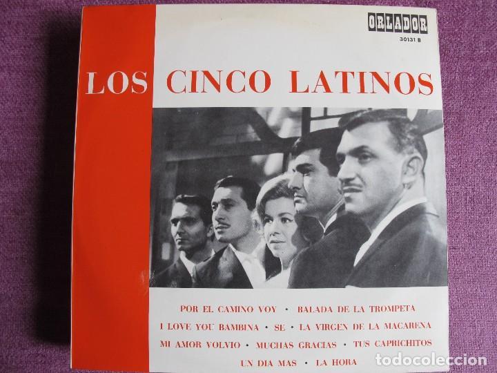10 PULGADAS - LOS CINCO LATINOS - MISMO TITULO (SPAIN, ORLADOR 1967.-CIRCULO DE LECTORES) (Música - Discos - LP Vinilo - Grupos Españoles 50 y 60)