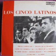 Discos de vinilo: 10 PULGADAS - LOS CINCO LATINOS - MISMO TITULO (SPAIN, ORLADOR 1967.-CIRCULO DE LECTORES). Lote 124109847