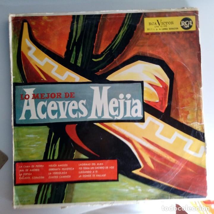 VINILO: LO MEJOR ACEVES MEJIA. RCA VICTOR (Música - Discos - Singles Vinilo - Grupos y Solistas de latinoamérica)