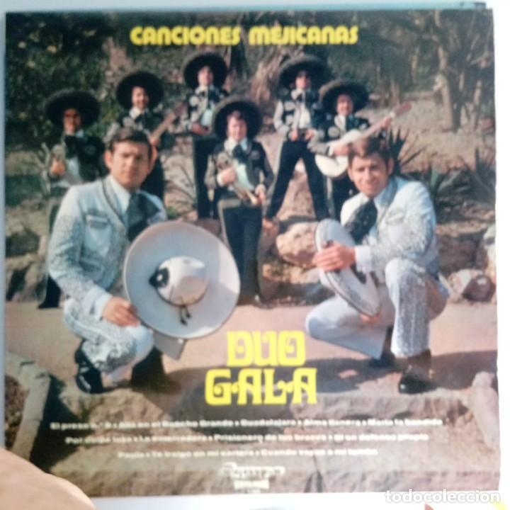 VINILO: DUO GALA: CANCIONES MEJICANAS. OLYMPO 1974 (Música - Discos - Singles Vinilo - Grupos y Solistas de latinoamérica)