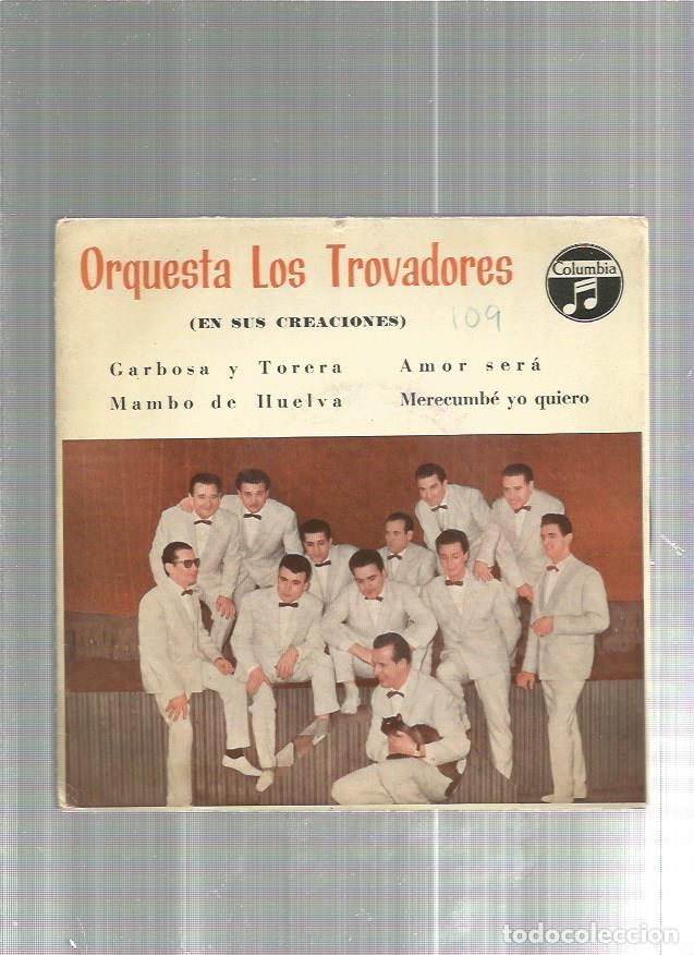 LOS TROVADORES GARBOSA (Música - Discos - Singles Vinilo - Otros estilos)