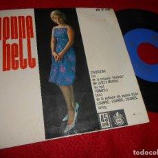 Discos de vinilo: MONNA BELL CHIQUITINA/ME GUSTA MADRID/TOMBOLA/CUANDO CUANDO CUANDO EP 1962 HISPAVOX. Lote 124130583