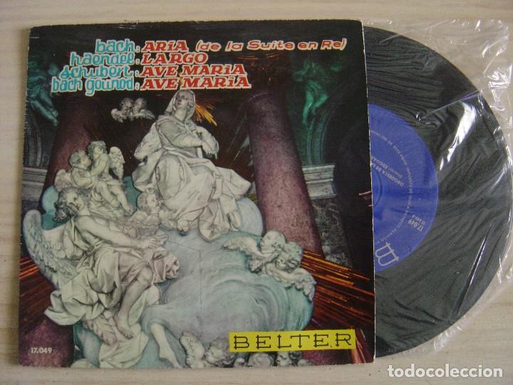 ORQUESTA DE LA OPERA DE VIENA -DIRECTOR: EDOUARD LINDENBERG – ARIA + LARGO..- EP 1961 BELTER (Música - Discos de Vinilo - EPs - Clásica, Ópera, Zarzuela y Marchas)