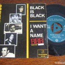 Discos de vinilo: LOS BRAVOS ` BLACK IS BLACK´ 1966. Lote 124030899