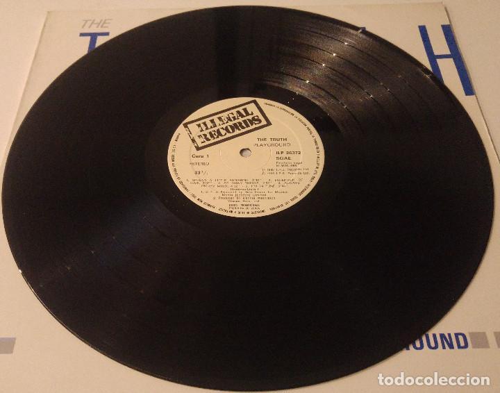 Discos de vinilo: The Truth...Playground.(I.R.S. Records Records 1985.) Spain. - Foto 3 - 124147375