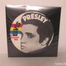 Discos de vinilo: ELVIS PRESLEY - 20 GREATEST HITS - LP PICTURE DISC - NCB 1984 GERMANY - COMO NUEVO. Lote 124173783