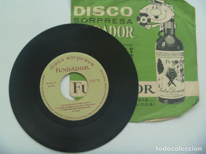 DISCO ( SINGLE ) SORPRESA DE FUNDADOR : MUSICA NORTEAMERICANA (Música - Discos - Singles Vinilo - Country y Folk)