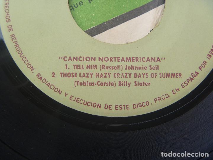 Discos de vinilo: DISCO ( SINGLE ) SORPRESA DE FUNDADOR : MUSICA NORTEAMERICANA - Foto 3 - 124176315