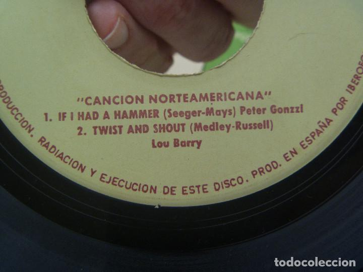 Discos de vinilo: DISCO ( SINGLE ) SORPRESA DE FUNDADOR : MUSICA NORTEAMERICANA - Foto 4 - 124176315