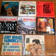 Discos de vinilo: LOTE DE SINGLES MUSICA DE CINE. Lote 124178695