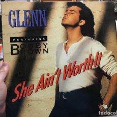 Discos de vinilo: LP BOBBY BROWN - GLENN. Lote 124180303