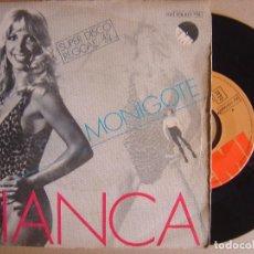 Discos de vinilo: BIANCA - MONIGOTE + QUE IMPORTA QUE MAS DA - SINGLE 1980 - EMI. Lote 124185123