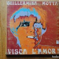 Discos de vinilo: GUILLERMINA MOTTA. VISCA L'AMOR. CONCENTRIC 1968 LP. Lote 124191995