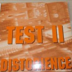 Discos de vinilo: TEST II – DISTORIENCE - MAXI 1992. Lote 124203367