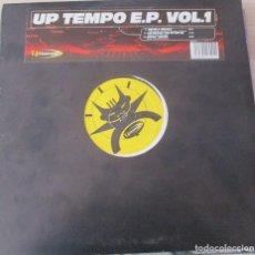 Discos de vinilo: VARIOUS ?– UPTEMPO E.P. VOL. 1 - MAXI 2000. Lote 124203711