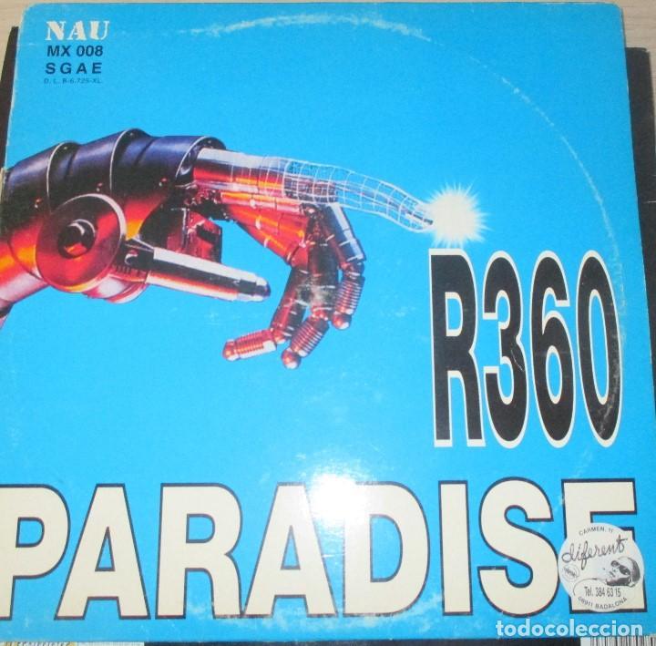 R360 ?– PARADISE - MAXI 1997 (Música - Discos de Vinilo - Maxi Singles - Techno, Trance y House)
