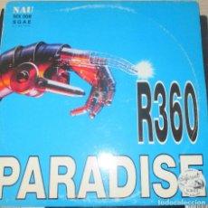 Discos de vinilo: R360 ?– PARADISE - MAXI 1997. Lote 124203995