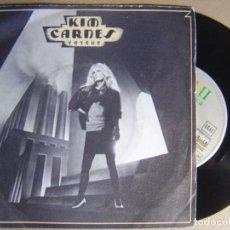 Discos de vinilo: KIM CARNES - VOYEUR - SINGLE 1982 - EMI. Lote 124211499