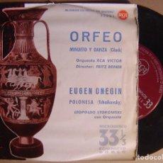 Discos de vinilo: ORQUESTA RCA VOCTOR - ORFEO - SINGLE 33 1961 - RCA. Lote 124214603