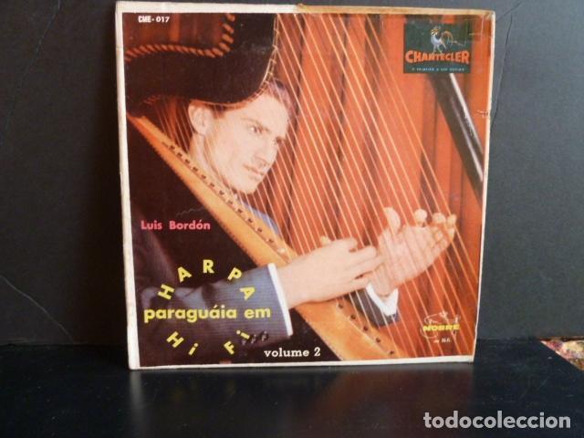 HARPA PARAGUAIA EM HIFI-LUIS BORDON VOL.2 (Música - Discos de Vinilo - EPs - Clásica, Ópera, Zarzuela y Marchas)