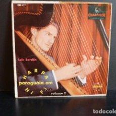 Discos de vinilo: HARPA PARAGUAIA EM HIFI-LUIS BORDON VOL.2. Lote 124217335