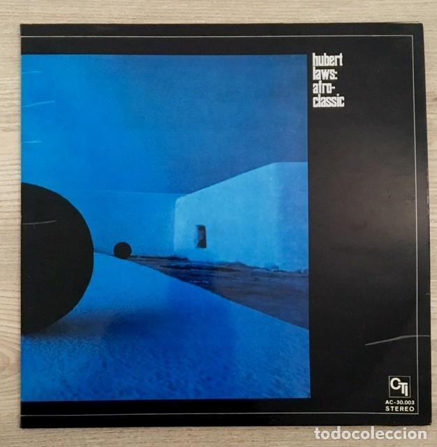 HUBERT LAWS - AFRO CLASSIC - LP 1971 (Música - Discos - LP Vinilo - Jazz, Jazz-Rock, Blues y R&B)