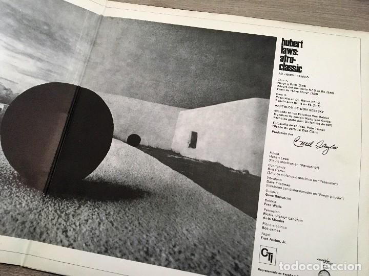 Discos de vinilo: HUBERT LAWS - AFRO CLASSIC - LP 1971 - Foto 2 - 124228771