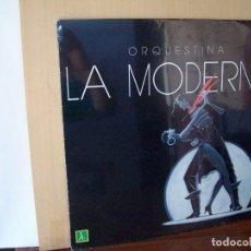 Discos de vinilo: ORQUESTINA LA MODERNA - LP 1988. Lote 124271171