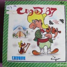 Discos de vinilo: LP - XAVIER CUGAT - CUGAT 87 (SPAIN, PICAP 1986). Lote 124280231