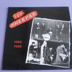 Discos de vinilo: LOS SHERPAS LP. 1963´1967. COLECCION COCODRILO - HISTORIA DE LA MÚSICA POP ESPAÑOLA Nª 76.1988.. Lote 124285463