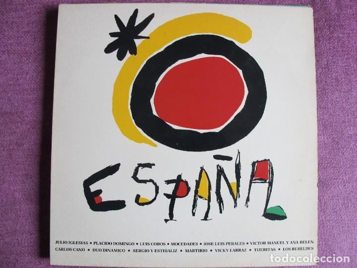 LP - ESPAÑA - VARIOS (VER FOTO ADJUNTA) (SPAIN, CBS 1988) (Música - Discos - LP Vinilo - Solistas Españoles de los 70 a la actualidad)