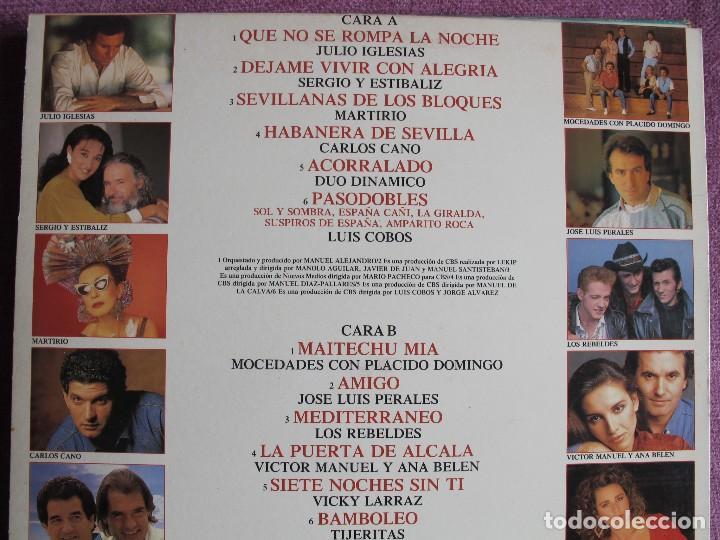 Discos de vinilo: LP - ESPAÑA - VARIOS (VER FOTO ADJUNTA) (SPAIN, CBS 1988) - Foto 2 - 124286399