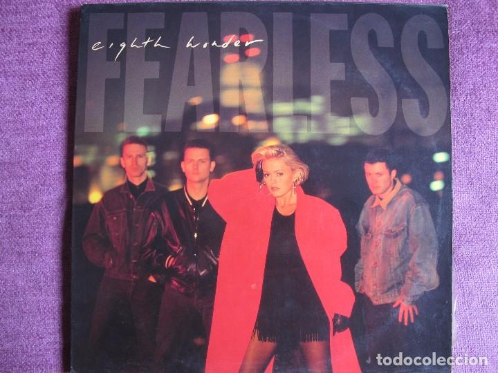 LP - EIGHTH WONDER - FEARLESS (SPAIN, CBS 1988) (Música - Discos - LP Vinilo - Pop - Rock - New Wave Extranjero de los 80)
