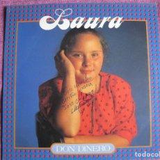 Discos de vinilo: LP - LAURA - DON DINERO (PROMOCIONAL ESPAÑOL, A.F. RECORDS 1989). Lote 124287395