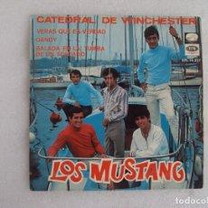 Discos de vinilo: LOS MUSTANG. CATEDRAL DE WINCHESTER. EP EDICION ESPAÑOLA 1967. EMI. LA VOZ DE SU AMO.. Lote 124291179