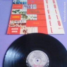 Discos de vinilo: LP. VIVA EL ROLLO VOL. 4 - ROCK MESETARIO - (LOS ELEGANTES,TRAFALGAR,TRILOGIA,MAY ,MARISCAL ROMERO,. Lote 124296019