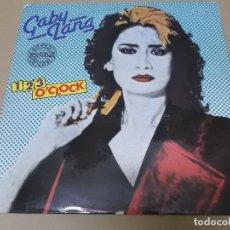 Discos de vinilo: GABY LANG (MX) 1,2,3 O'CLOCK +1 TRACK AÑO 1984. Lote 124298591