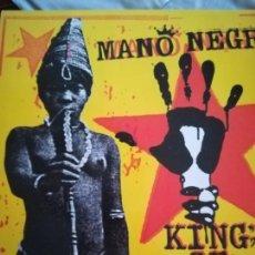 Discos de vinilo: MANO NEGRA, KING OF BONGO,LP. Lote 124402458