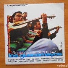 Discos de vinilo: LP LOS GUACAMAYOS - FIESTA EN AMERICA (CA). Lote 124408687
