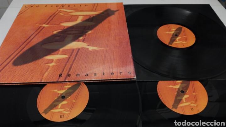Discos de vinilo: Led Zeppelin Remasters 1990 triple LP - Foto 2 - 124410622