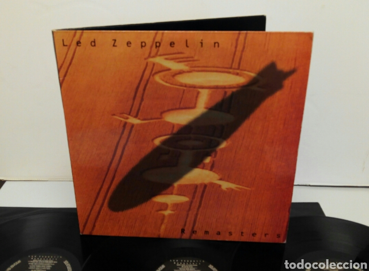 Discos de vinilo: Led Zeppelin Remasters 1990 triple LP - Foto 8 - 124410622