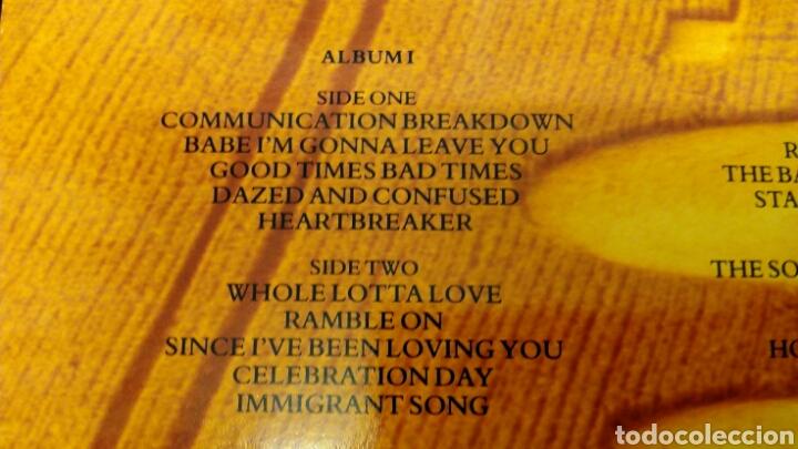 Discos de vinilo: Led Zeppelin Remasters 1990 triple LP - Foto 10 - 124410622