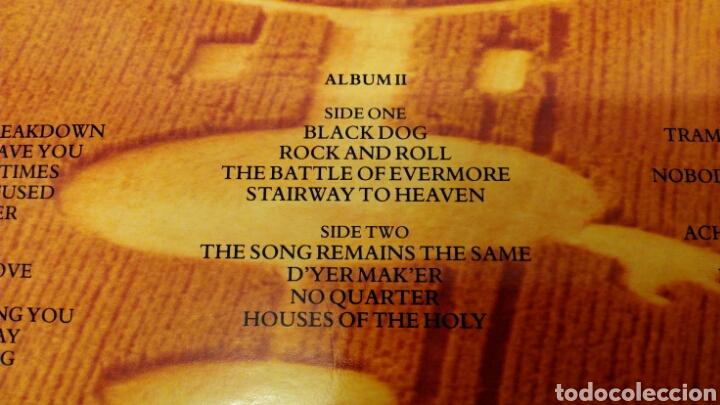 Discos de vinilo: Led Zeppelin Remasters 1990 triple LP - Foto 11 - 124410622